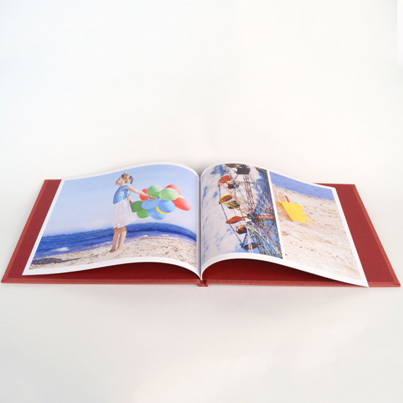 Photobook Classic Tela con Ventana