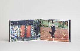 Photobook Pocket Cuero Vanol Blanco con Ventana