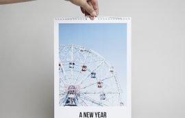 Calendario Pared Vertical