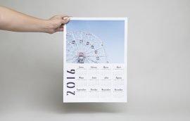Calendario Poster Vertical