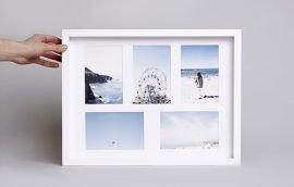 Enmarcado Passepartout Collage 30×40 Horizontal