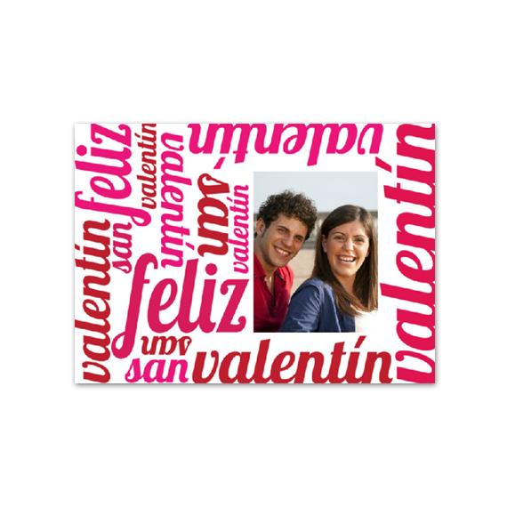 Postal Feliz San Valentín