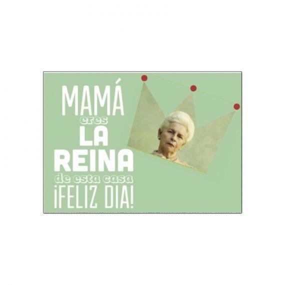 Postal Mamá Reina
