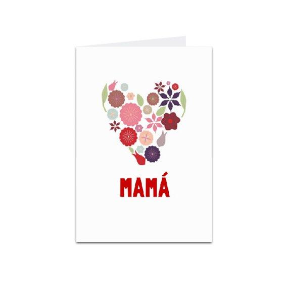 Tarjeta Vertical Mamá 3