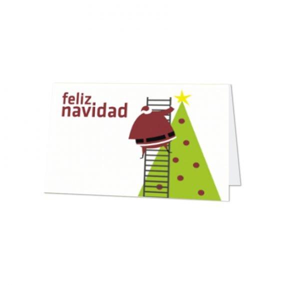 Diptica H.  Feliz Navidad Arbol