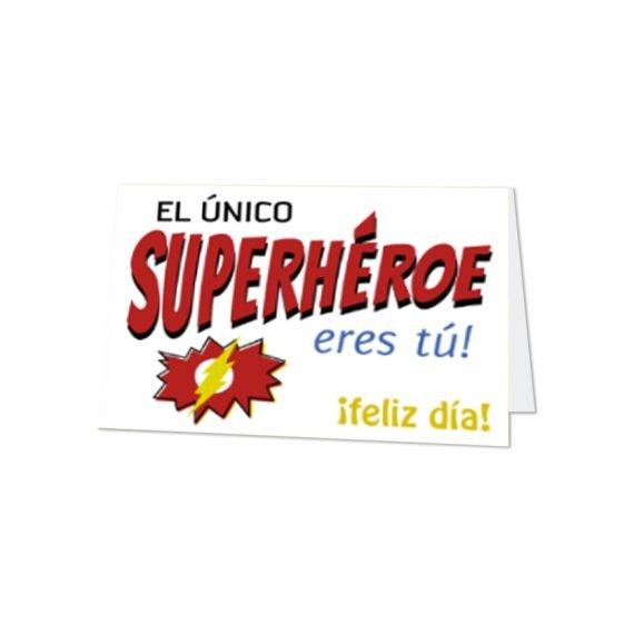 Papá Super Héroe Horizontal