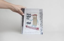 Cuaderno Chico Hoja Blanca