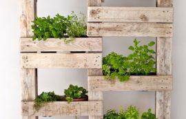 Inspírate para decorar con madera reciclada