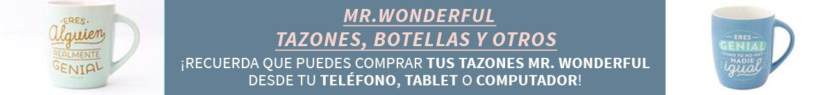 Mr. Wonderful »  Tazones, Botellas y Otros