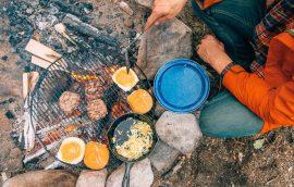 10 ideas prácticas de comidas para camping